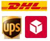 DHL, UPS, DPD
