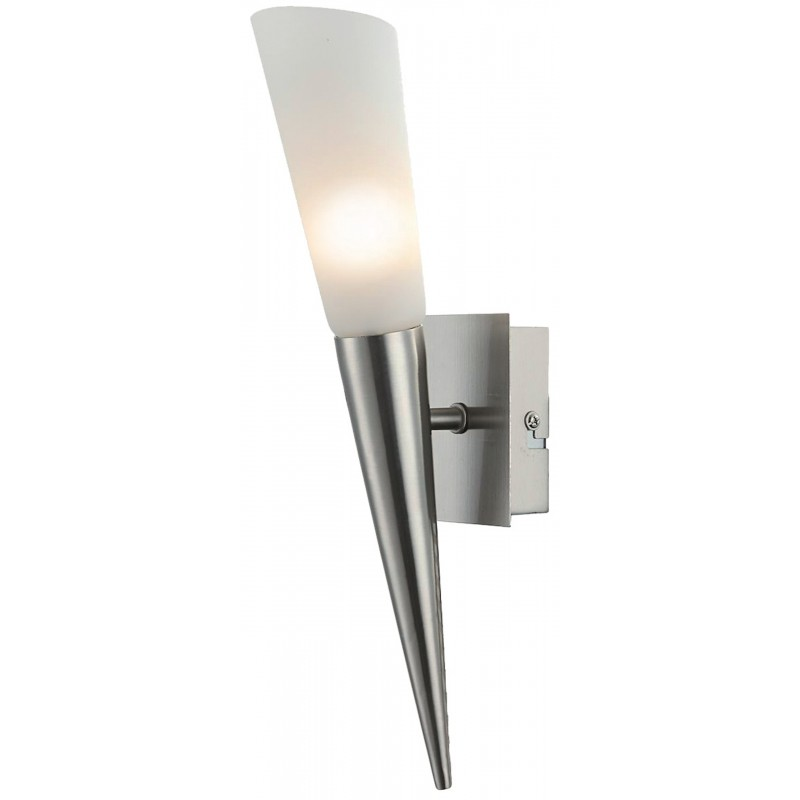 Nino Leuchten LED-Wandleuchte Riverpool, nickel, H: 35 cm