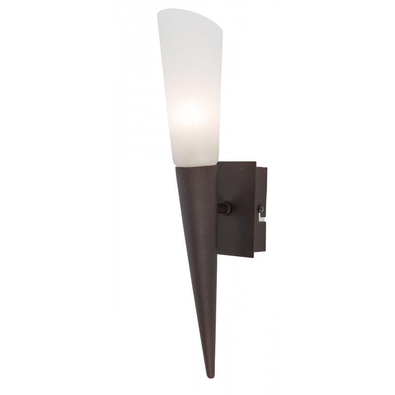 Nino Leuchten LED-Wandleuchte Riverpool, rost, H: 35 cm