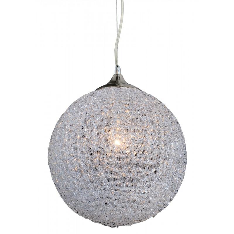 Nino Leuchten Pendelleuchte 1-flg. Candy, transparent, H: 150 cm, D: 30 cm