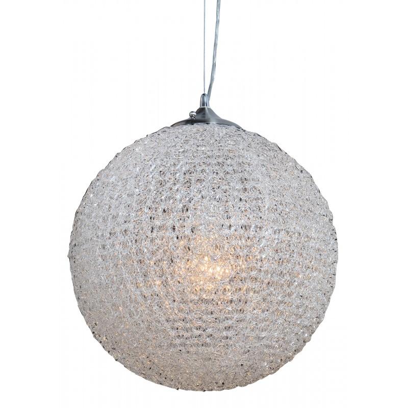 Nino Leuchten Pendelleuchte 1-flg. Candy, transparent, H: 145,5 cm, D: 40 cm