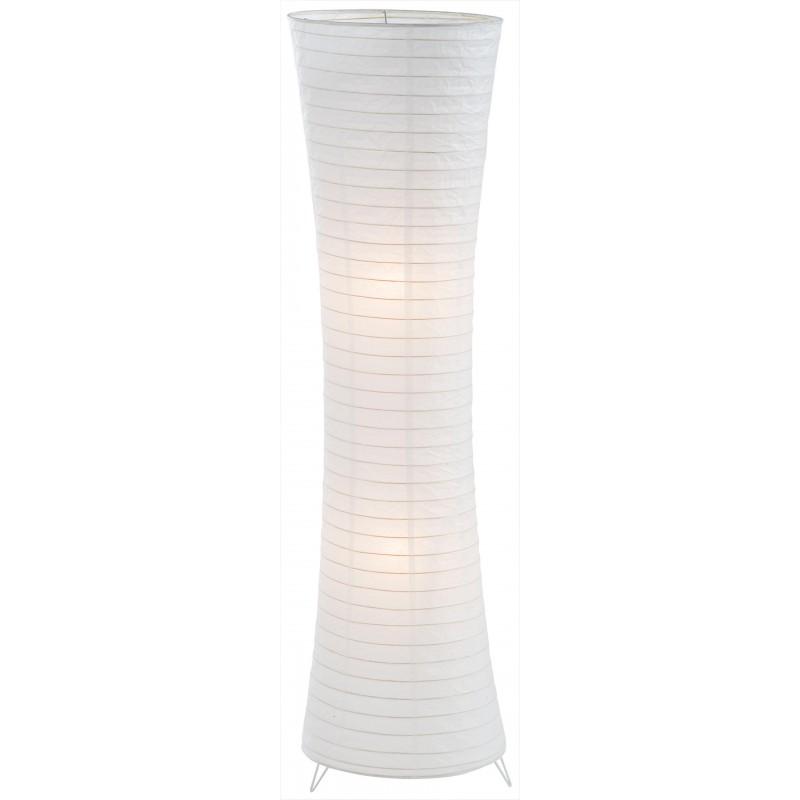 Nino Leuchten Stehleuchte Lodda, weiss, H: 125 cm, D: 35 cm