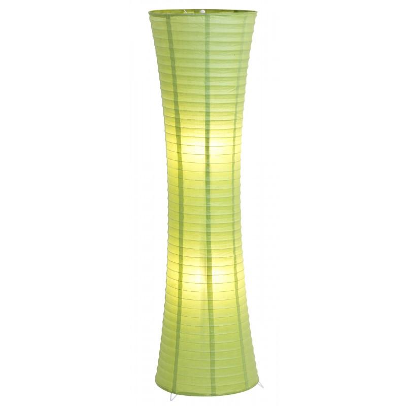 Nino Leuchten Stehleuchte Lodda, grün, H: 125 cm, D: 35 cm