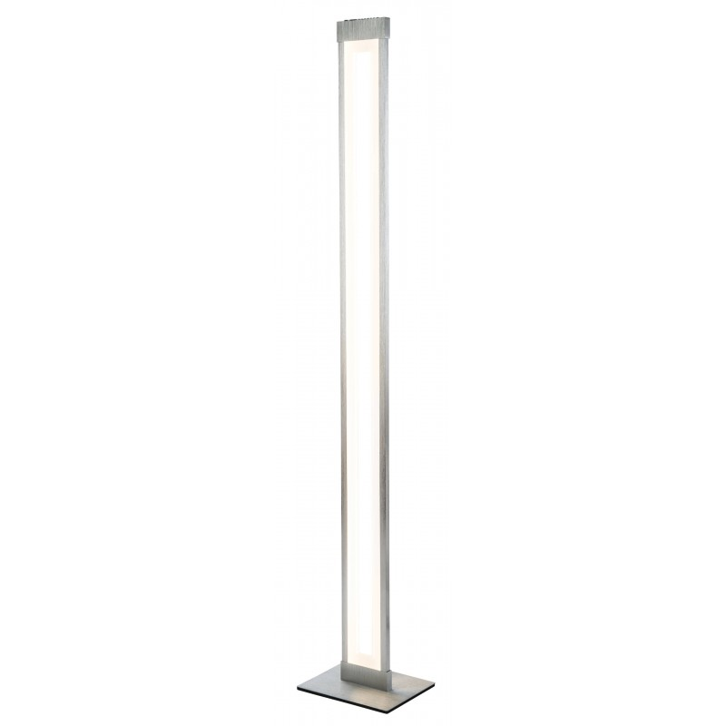 Nino Leuchten LED Stehleuchte Yesno, aluminium, B: 20 cm, H: 120 cm, T: 16 cm