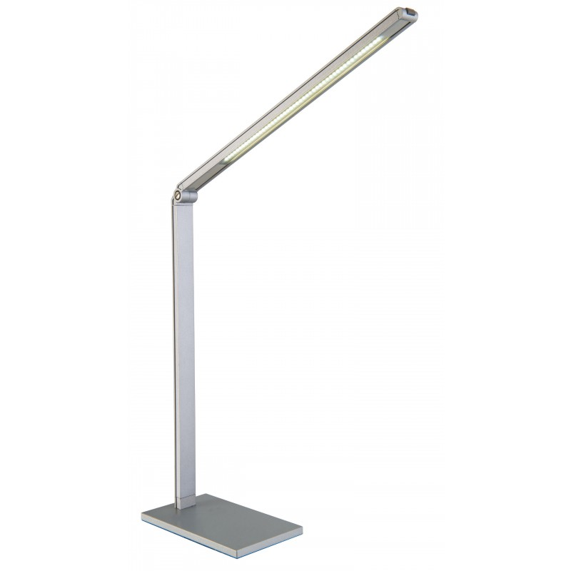 Nino Leuchten LED Tischleuchte Pipe, titan, H: 38 cm