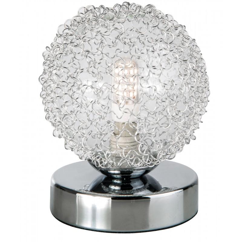 Nino Leuchten LED-Tischleuchte 1-flg. Ryder, chrom, H: 11 cm