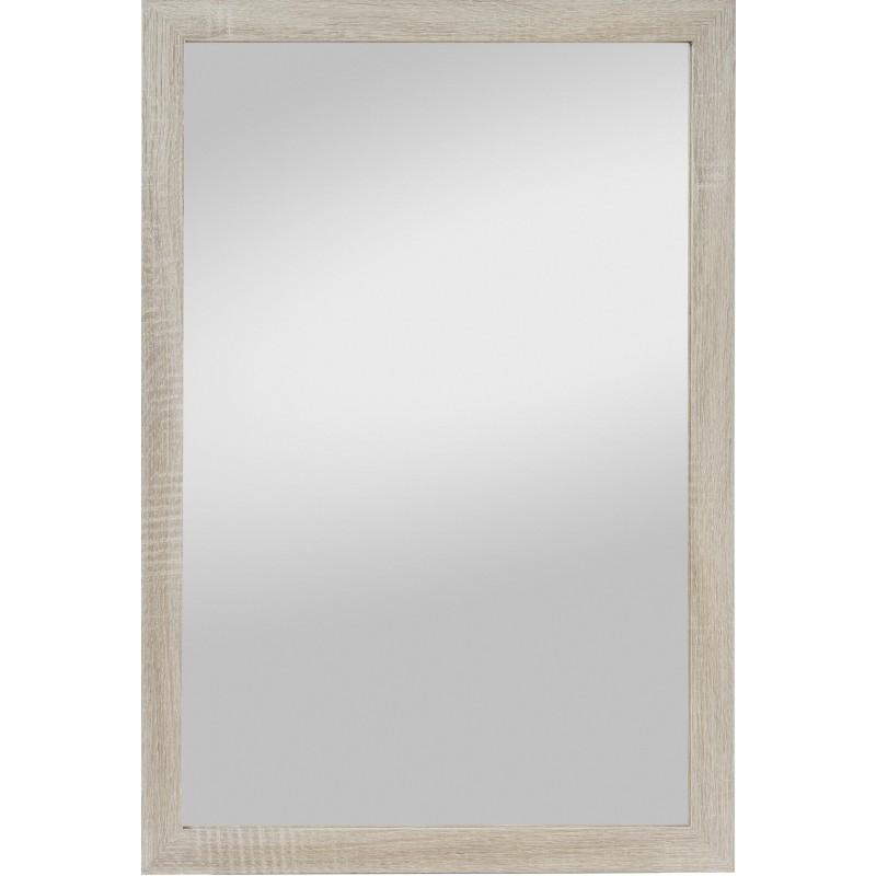 Rahmenspiegel Kathi, 48 x 68 cm, Eiche hell