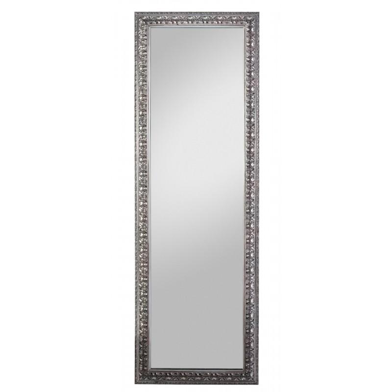 Rahmenspiegel Elena, 50 x 150 cm, altsilber