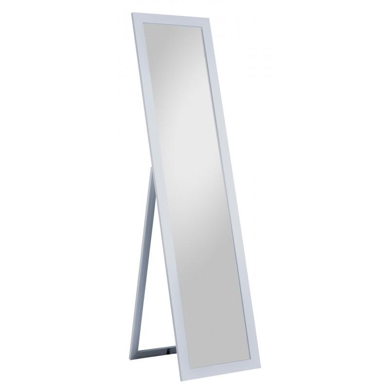 Standspiegel Emilia, 40 x 160 cm, silber
