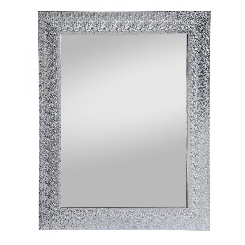 Rahmenspiegel Rosi, 55 x 70 cm, silber