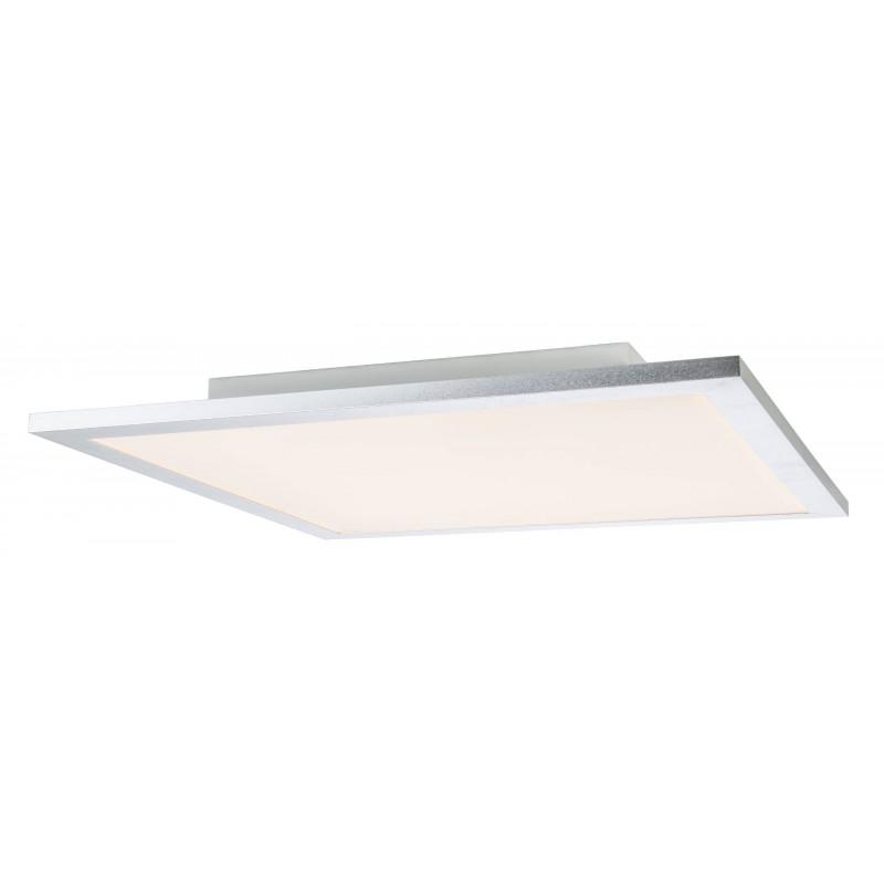 Nino Leuchten LED Deckenleuchte Panel, titan, B: 60 cm, T: 60 cm