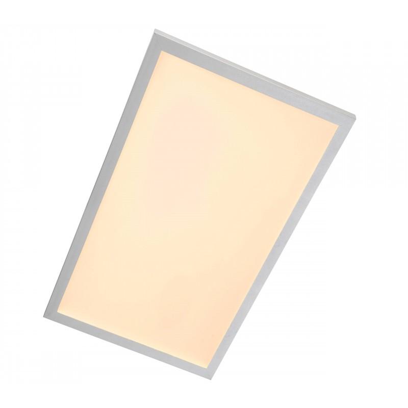 Nino Leuchten LED Deckenleuchte Panel, titan, B: 80 cm, T: 30 cm