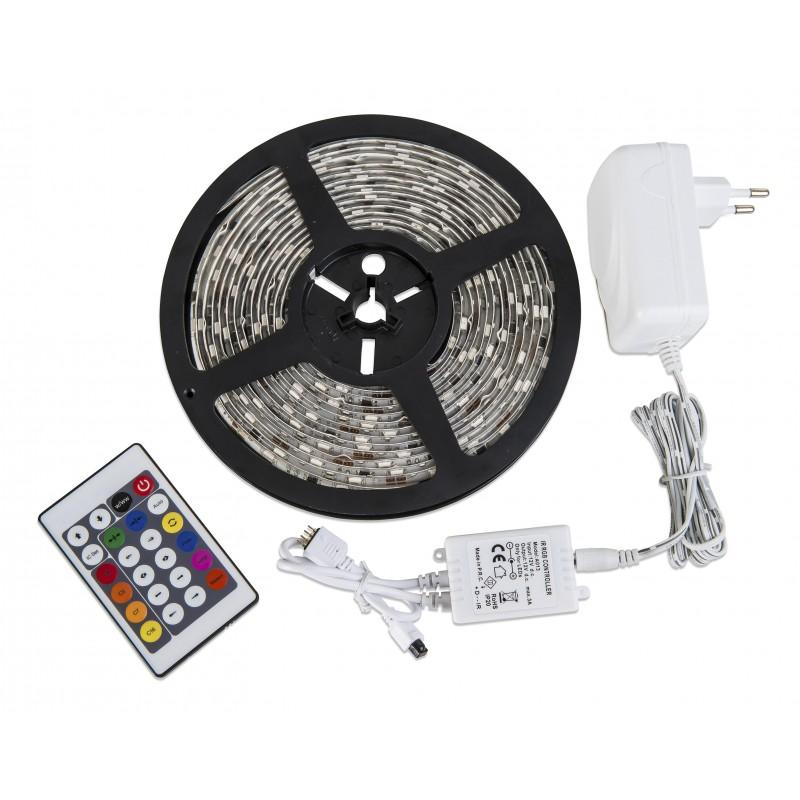 Nino Leuchten LED-RGB DIGITAL Flexband, weiss, B: 300 cm, T: 1 cm
