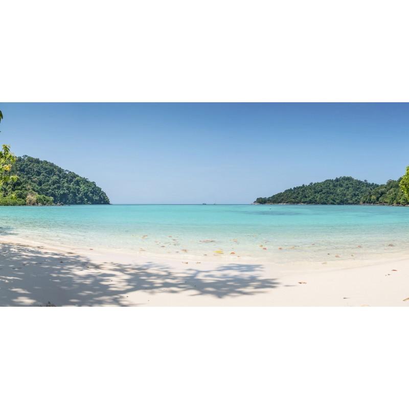 Leinwandbild: Karibik, 100 x 50 cm