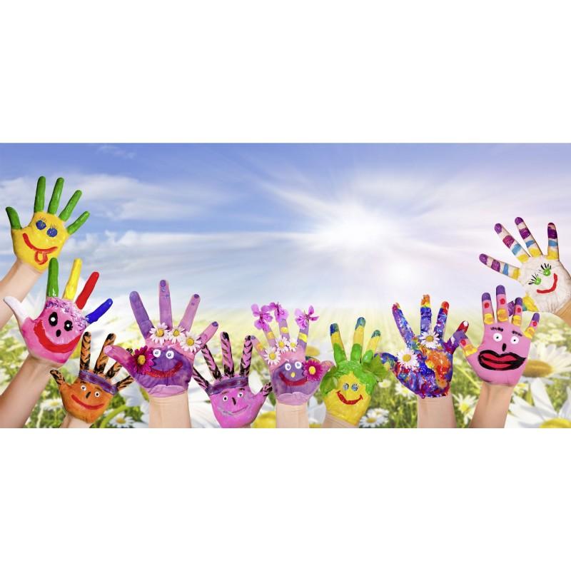 Leinwandbild: Hands, 100 x 50 cm