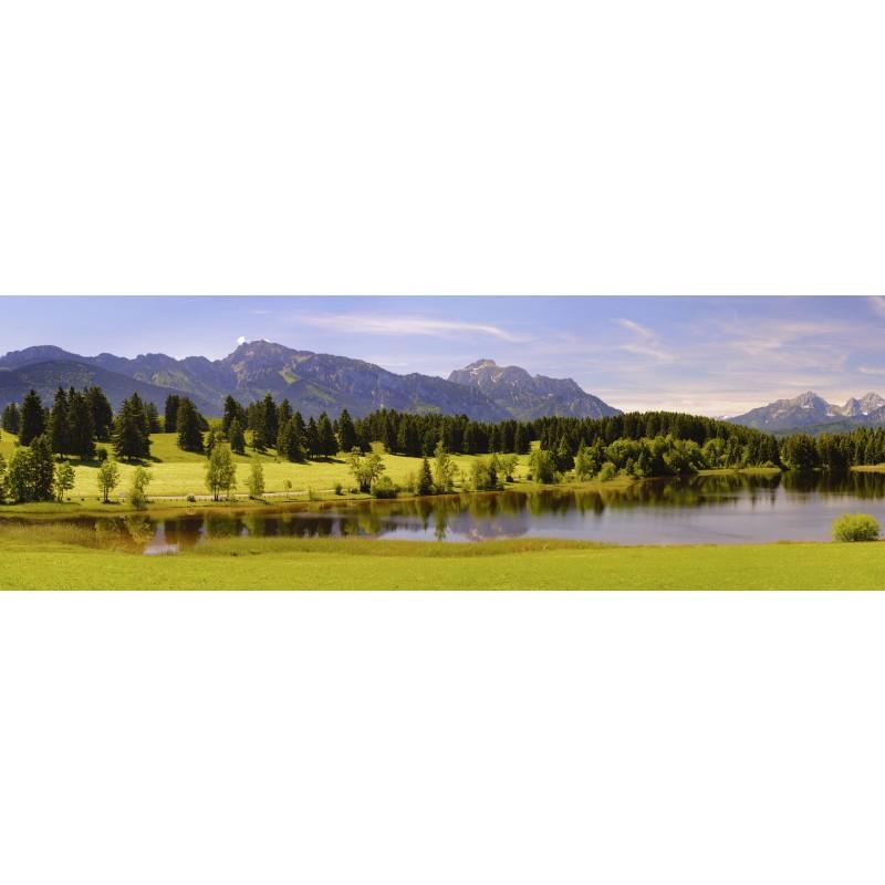 Leinwandbild: in den Bergen, 150 x 50 cm