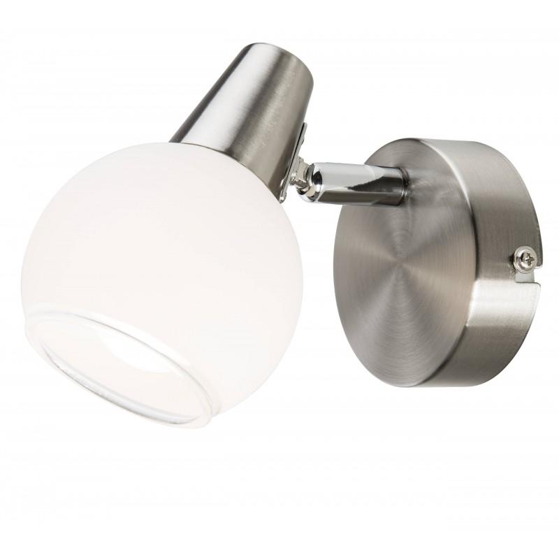 Nino Leuchten LED Spot 1flg Dasha, nickel