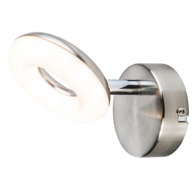 Nino Leuchten LED Spot 1-flg. Donut, nickel