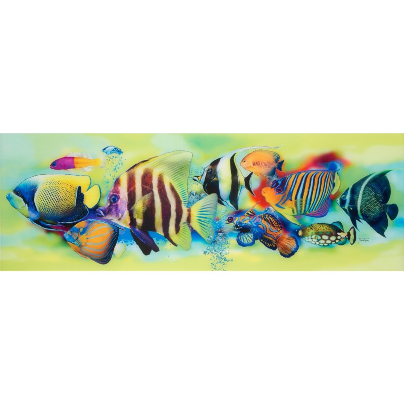 Glasbild FISCH TROPICAL