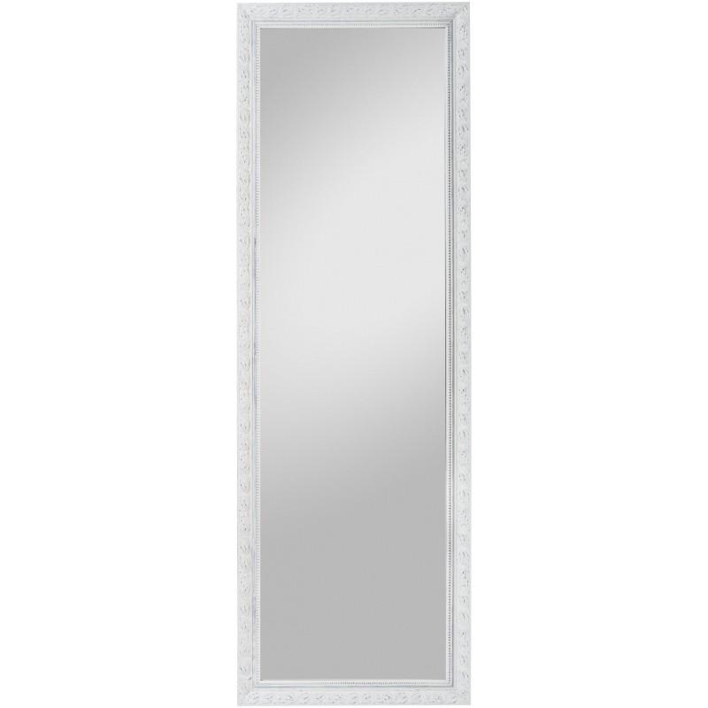 Rahmenspiegel Pius, 50 x 150  cm, weiß
