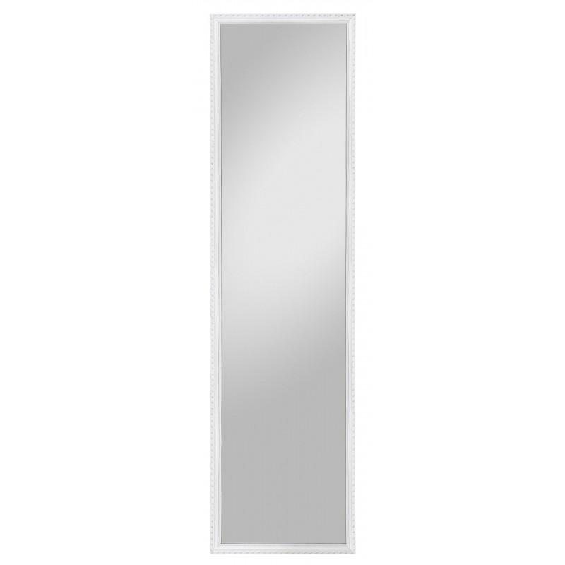 Rahmenspiegel Lisa, 35 x 125 cm, weiß