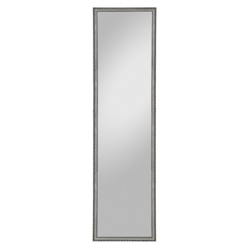 Rahmenspiegel Lisa, 35 x 125 cm, silber