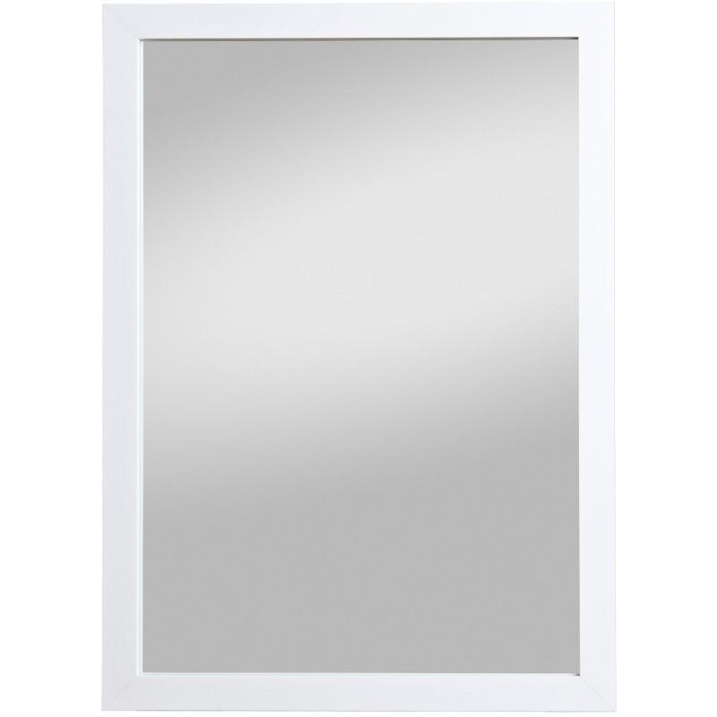 Rahmenspiegel Kathi, 48 x 68 cm, weiß