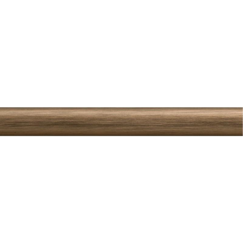 Nielsen Aluminium Wechselrahmen Classic, 50 x 50 cm, Struktur Walnuß