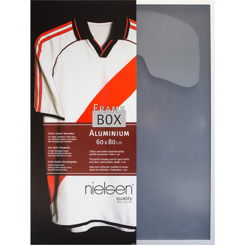 your-homestyle.de Nielsen Aluminium Rahmen FrameBox II, Scheibe aus ...
