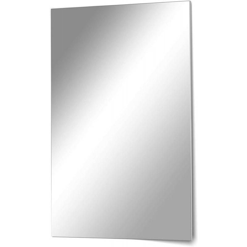 Homestyle Rahmenloser Kristallspiegel Mirror 40 x 60 cm Wandspiegel Rahmenlos hochwertiger Badezimmerspiegel Flurspiegel Wohnzimmerspiegel