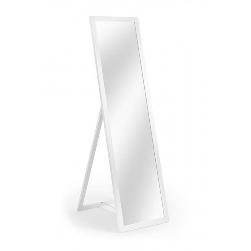 Standspiegel Greta, 40 x 140 cm, weiß
