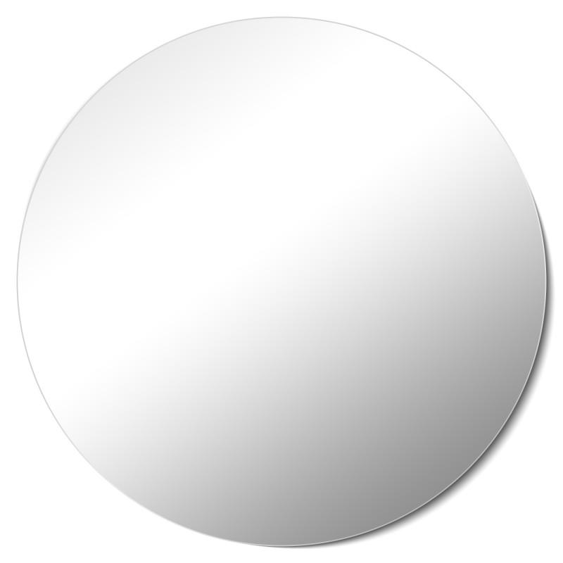 Homestyle Kristallspiegel Rund & Rahmenlos 80x80cm badezimmerspiegel rund
