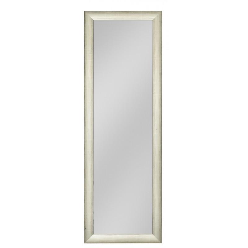 Rahmenspiegel Charlotte, 50 x 150 cm, Silber