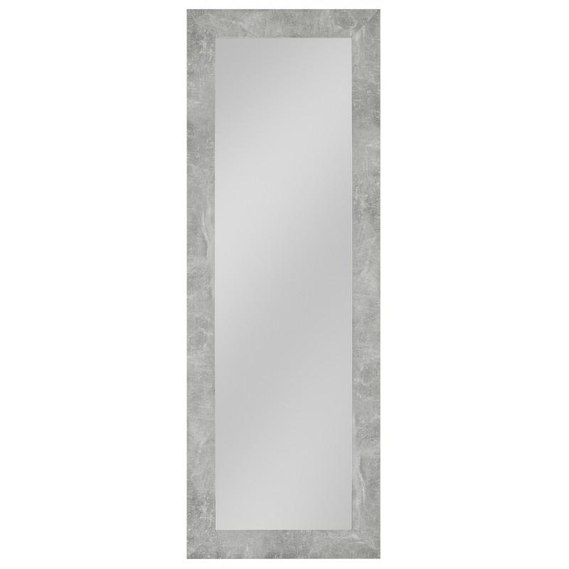 Rahmenspiegel Marlene, 54 x 154 cm, Beton-Optik