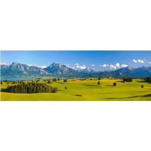 Leinwandbild: im Gebirge, 150 x 50 cm
