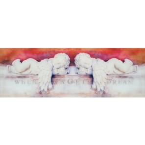 Glasbild ANGEL DREAM