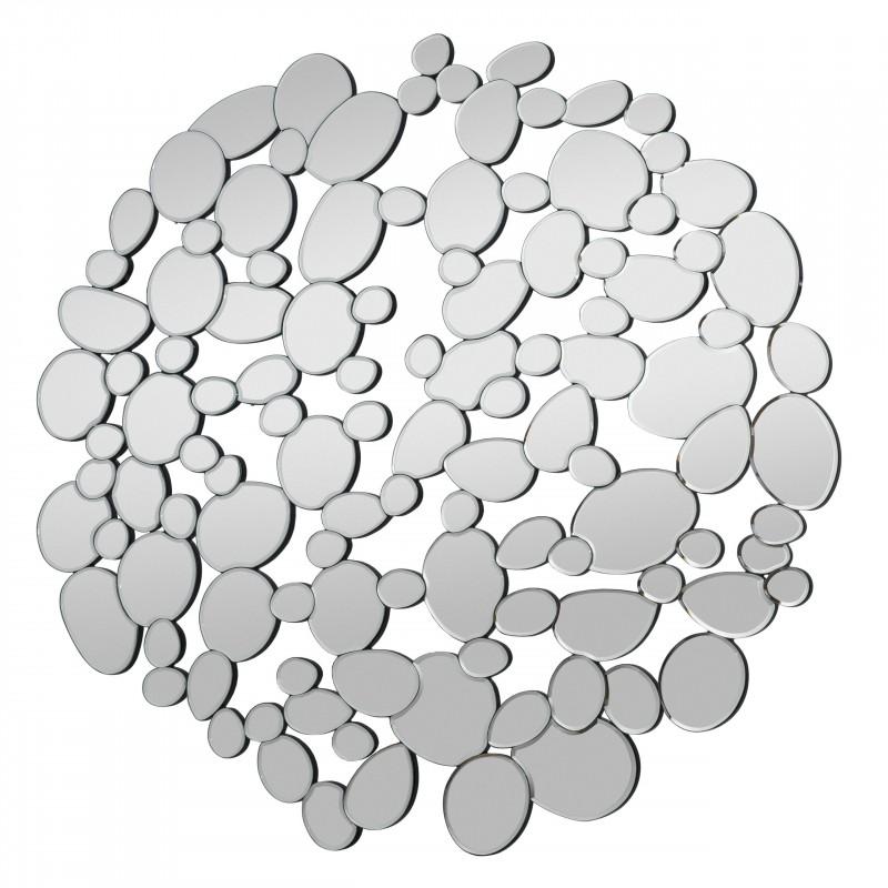Designspiegel Bubble, 110 x 110 cm
