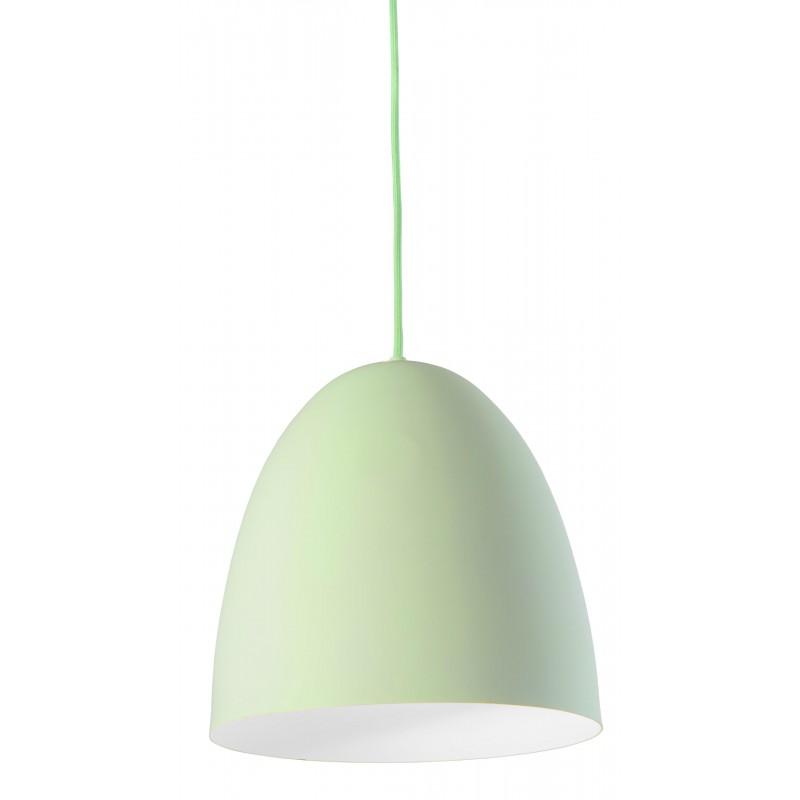 Nino Leuchten Pendelleuchte 1-flg. Viola, grün, H: 150 cm, D: 27 cm