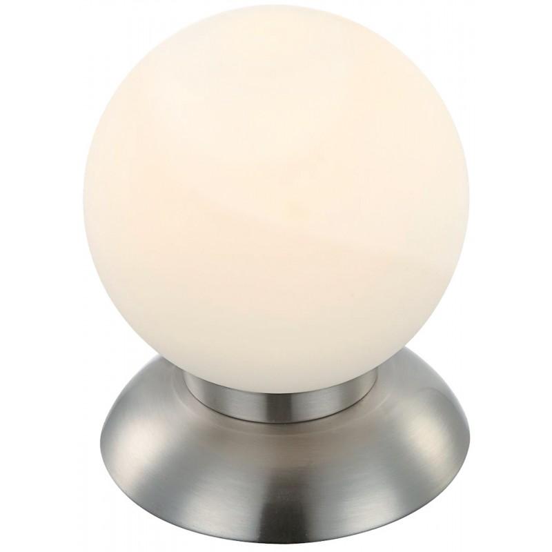 Nino Leuchten LED-Tischleuchte Michelle, nickel