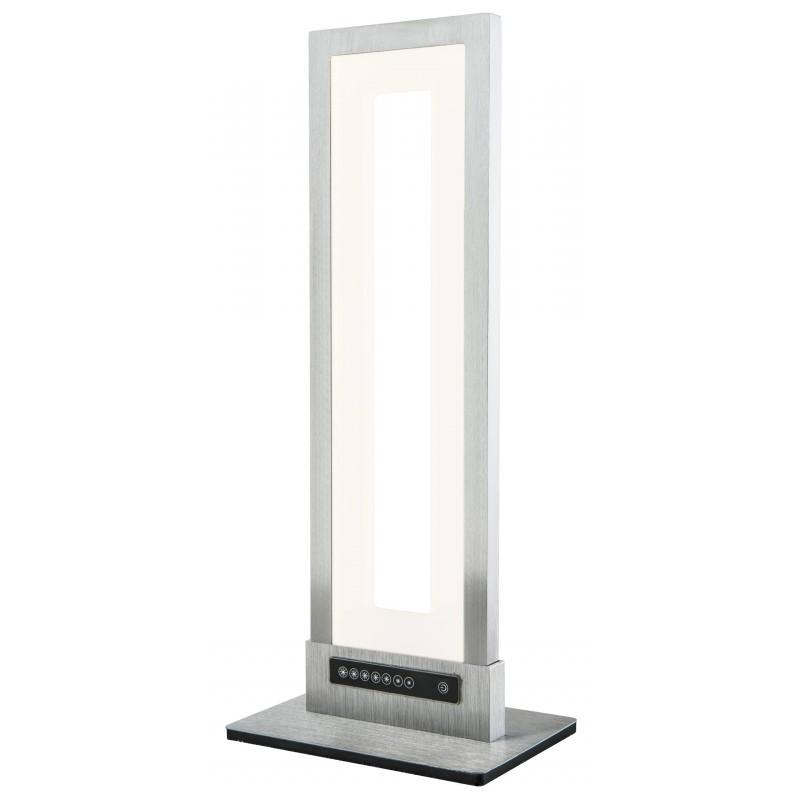 Nino Leuchten LED Tischleuchte Yesno, aluminium, B: 14 cm, H: 34 cm, T: 10 cm