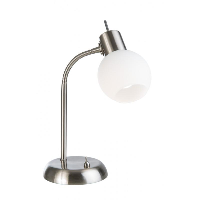 Nino Leuchten LED Tischleuchte 1-flg. Lo y, nickel, H: 30 cm