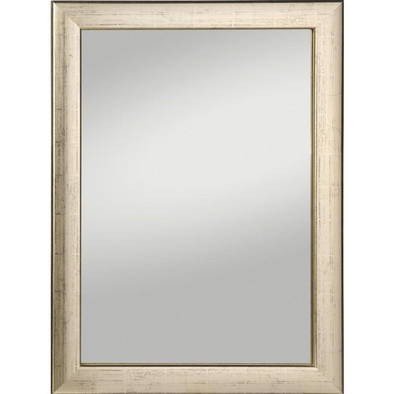 Rahmenspiegel Alino, 58 x 78 cm, silber