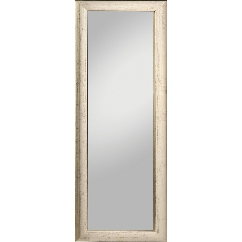 Rahmenspiegel Alino, 62 x 162 cm, silber