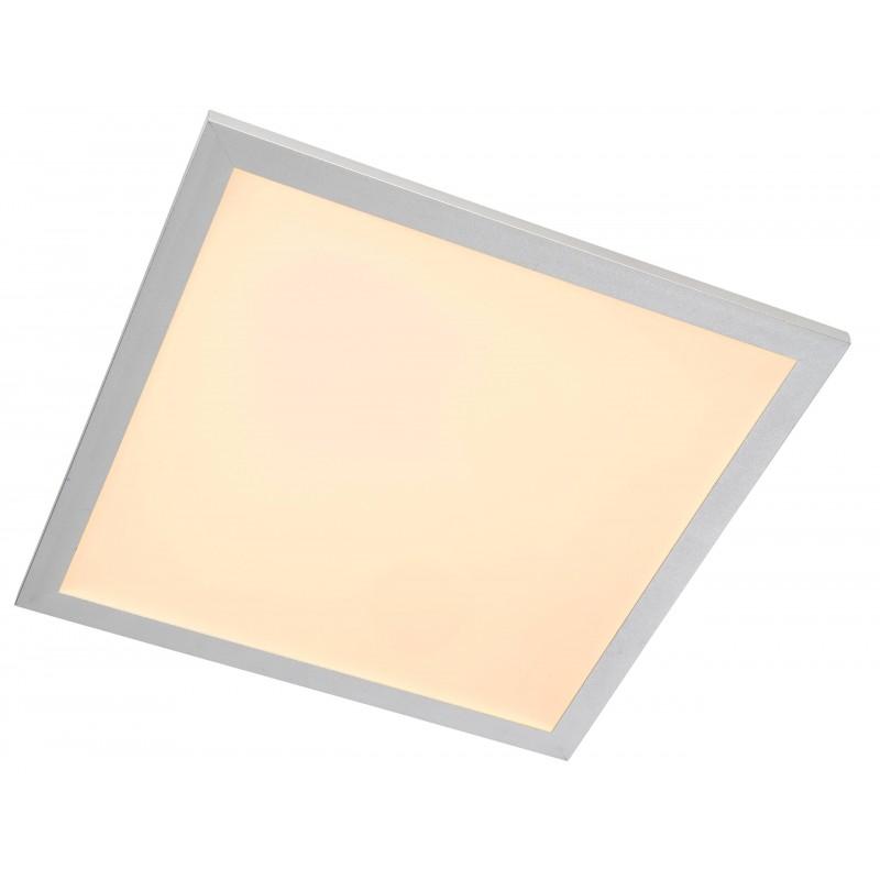 Nino Leuchten LED Deckenleuchte Panel, titan, B: 40 cm, T: 40 cm