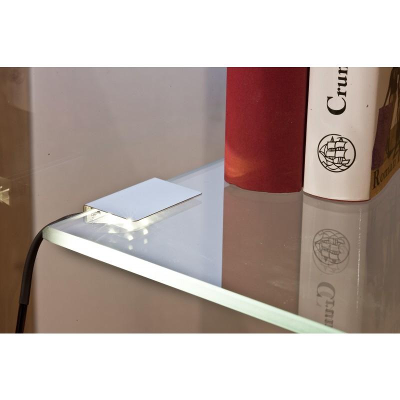 Nino Leuchten LED-Clip 2er Set, weiss, B: 4 cm, T: 2,5 cm