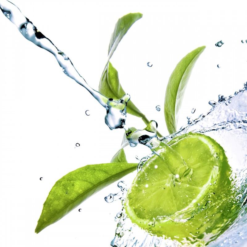 Leinwandbild: Lime, 35 x 35 cm