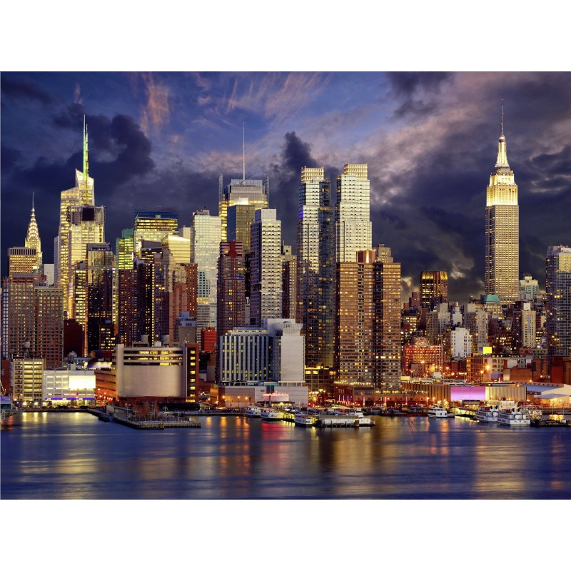 Leinwandbild: New York City, 80 x 60 cm