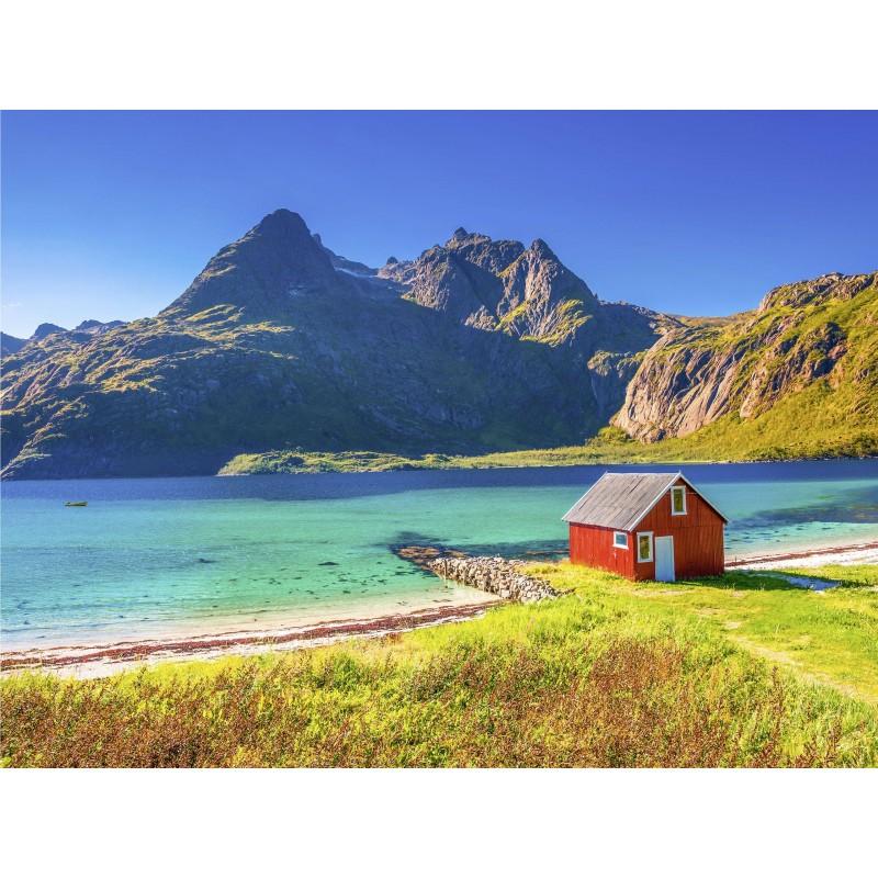 Leinwandbild: Schweden, 80 x 60 cm