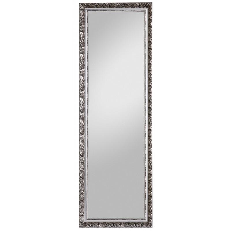 Rahmenspiegel Pius, 50 x 150 cm, silber