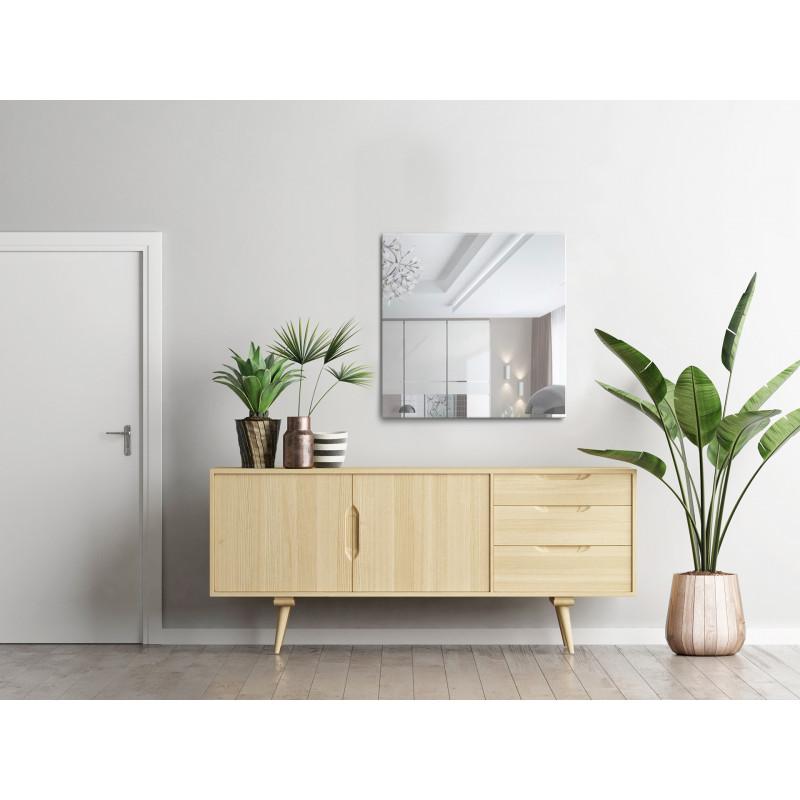 Homestyle Rahmenloser Facettenspiegel 80 x 80 cm Flur - Wonraum Mood